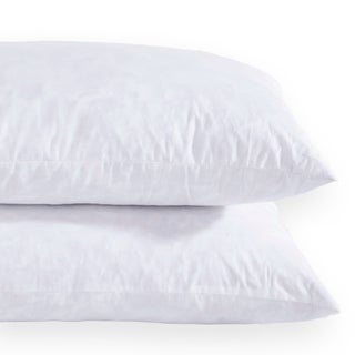 St. James Home Feather Pillow Insert (Set of 2) - White (4 options available)
