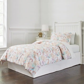 Lullaby Bedding Unicorn Printed Duvet Set