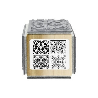 """Stampendous Cube Rubber Stamp 2.75""""X2.75"""""""