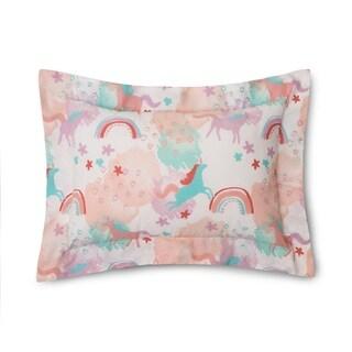 Lullaby Bedding Unicorn Printed Boudoir Pillow