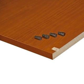 Family Wardrobe Optional Small Shelves 5974, Honey Pine, Set of 4