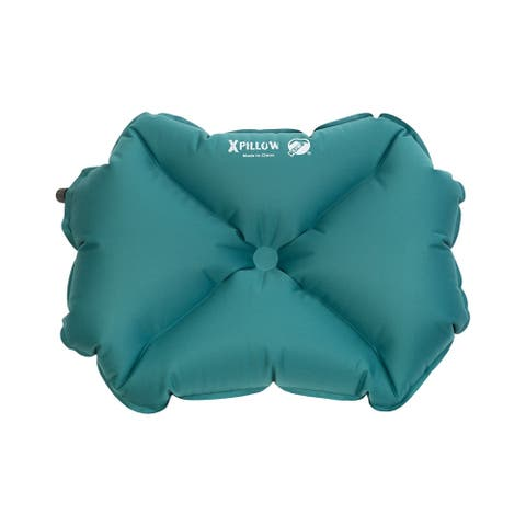 Klymit Pillow X Large Inflatable Camp & Travel Pillow Teal