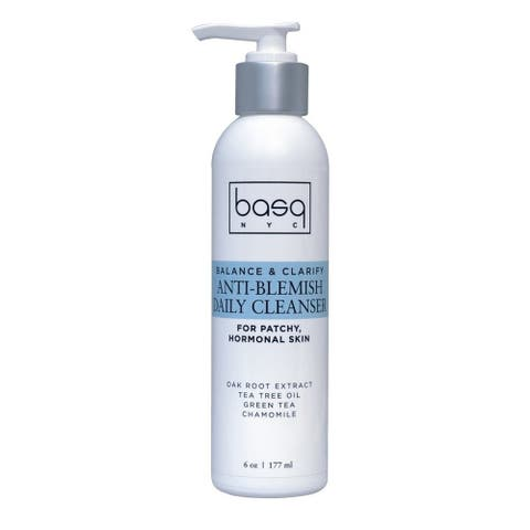 Basq NYC Anti-Blemish 6-ounce Daily Cleanser