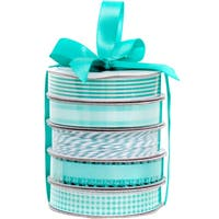 American Crafts Premium Ribbon & Twine 5-Packs