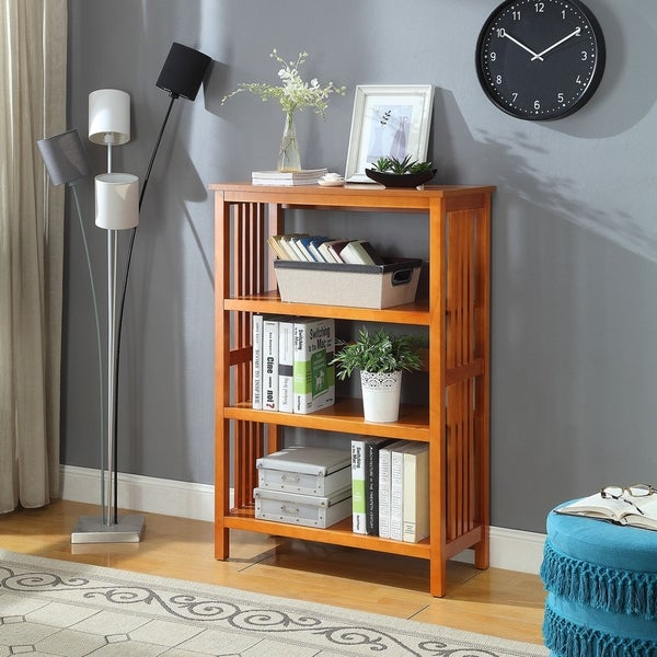 Mission 3-Shelf Bookcase