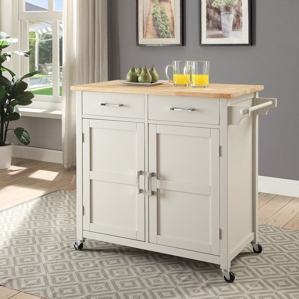 Macie Small Kitchen Cart