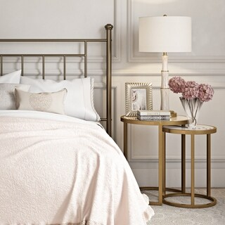 Avenue Greene Dixie Brass Nesting Tables