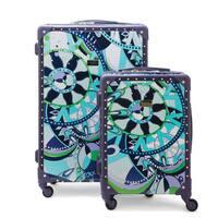Macbeth Collection Sailing Serafina Trunk 2-piece Hardside Spinner Luggage Set