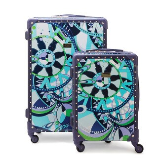 Macbeth Sailing Serafina Trunk 2-piece Hardside Spinner Luggage Set
