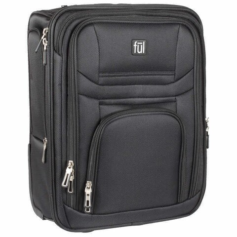Ful Pilot 15-inch Under-Seat Carry-On Rolling Suitcase