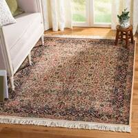 Safavieh Couture Hand-Knotted Royal Kerman Traditional Multi Wool Rug - 12' X 18'