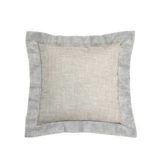Simon Chang Rhinestone Decorative Throw Pillow