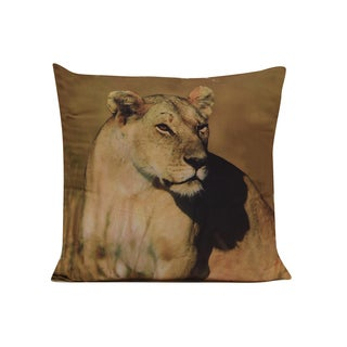 Lion Floor Throw Pillow