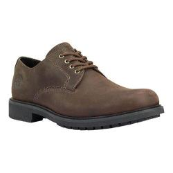 Men's Timberland Concourse Buck Plain Toe Oxford Dark Brown Oiled Leather
