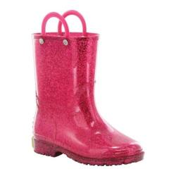 Girls' Western Chief Glitter Rain Boot Pink