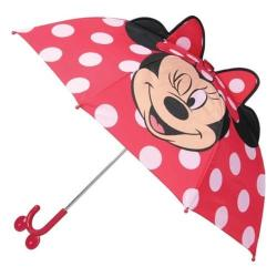 Girls' Western Chief Minnie Mouse Umbrella Red