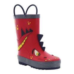 Children's Western Chief Spike Rain Boot Red