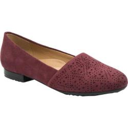 Women's Bare Traps Evey Slip On Wine Microfiber