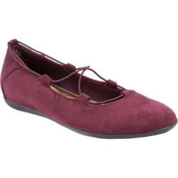 Women's Bare Traps Jackeline Slip On Wine Microfiber