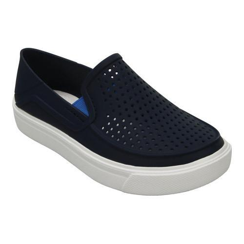 0db749a2aa35 Shop Children s Crocs CitiLane Roka Slip-On Sneaker Juniors Navy - Free  Shipping On Orders Over  45 - Overstock - 17682415