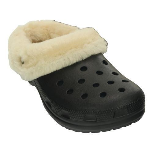 5c200c0bae2f Shop Crocs Classic Mammoth Luxe Clog Black - Free Shipping Today -  Overstock - 17682417