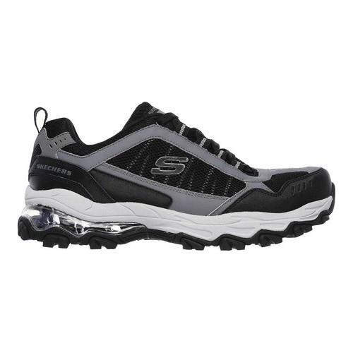 Men's Skechers After Burn M Fit Air Training Shoe Black/Charcoal - Thumbnail 1