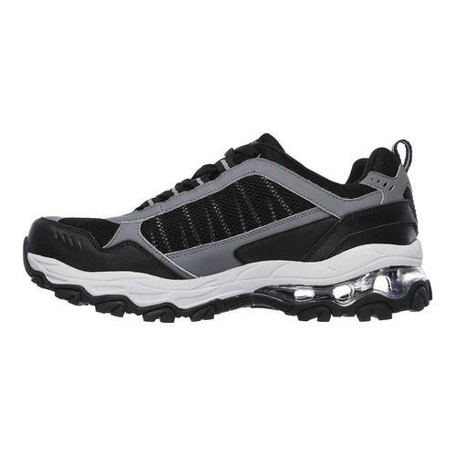 Men's Skechers After Burn M Fit Air Training Shoe Black/Charcoal - Thumbnail 2