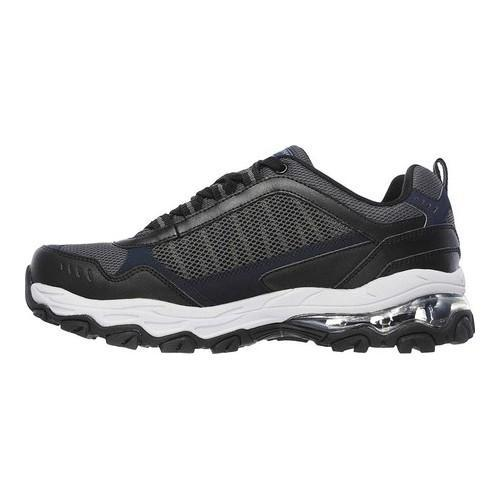 Men's Skechers After Burn M Fit Air Training Shoe Navy/Black - Thumbnail 2