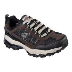 Men's Skechers After Burn M Fit Air Training Sneaker Brown/Black