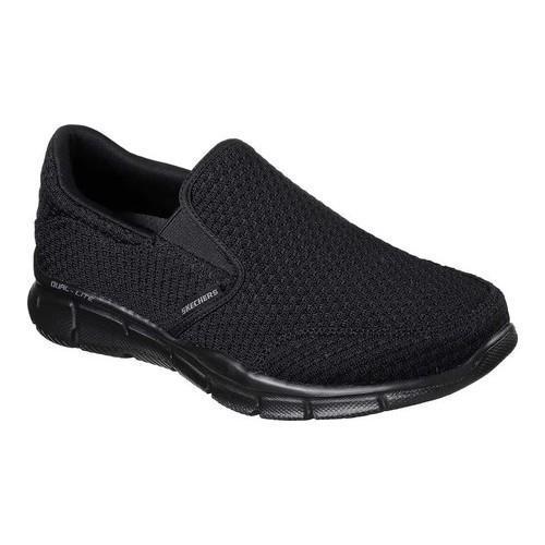 d184b19639f0 Shop Men's Skechers Equalizer Slickster Slip-On Black - Free Shipping Today  - Overstock - 17669623