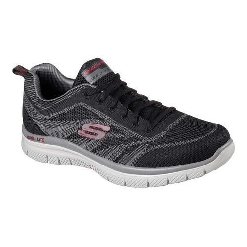 baa3caad0d529 Shop Men's Skechers Flex Advantage Fator Training Sneaker Black/Charcoal -  Free Shipping Today - Overstock - 17669645