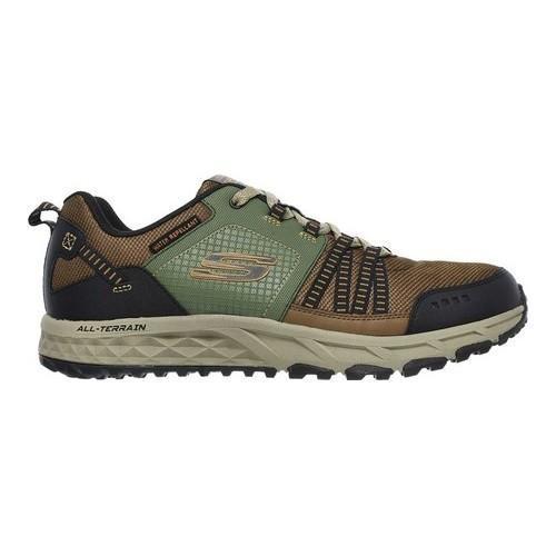 Men's Skechers Escape Plan Sneaker BrownGreen   Shopping The Best Deals on Athletic