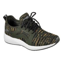 Women's Skechers BOBS Squad Double Dare Sneaker Olive | Shopping The Best Deals on Sneakers