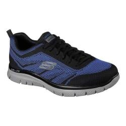 Men's Skechers Flex Advantage Fator Training Sneaker Black/Royal