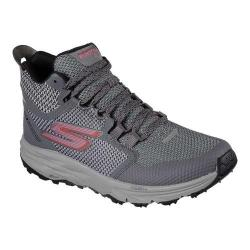 Women's Skechers GOtrail 2 Grip Running Shoe Gray/Pink