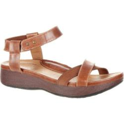 Women's 4EurSole Gentle Touch Ankle Strap Sandal Dusty Chocolate Leather