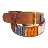 Women's Aspiga Kite Belt Spring Colors/Tanned Leather