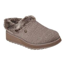 Women's Skechers Keepsakes High Clog Dark Taupe