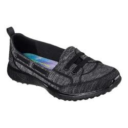 Women's Skechers Microburst Topnotch Walking Slip-On Black