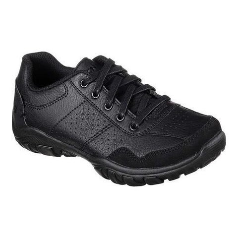 Boys' Skechers Relaxed Fit Grambler II Sneaker Black/Black