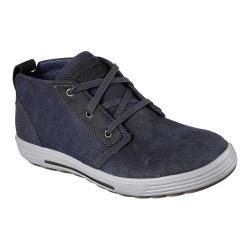 Men's Skechers Porter Malego Mid Top Sneaker Navy