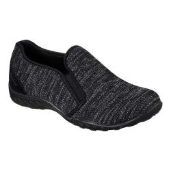 Women's Skechers Relaxed Fit Breathe Easy Like Crazy Slip-On Black