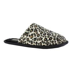 Women's Daniel Green Rave II Scuff Slipper Cheetah Terry Fabric