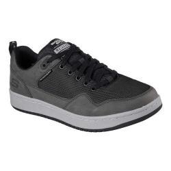 Men's Skechers Relaxed Fit Tedder Sneaker Black/Charcoal