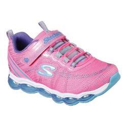 Girls' Skechers S Lights Air Lites Sneaker Neon Pink/Blue