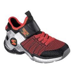 Boys' Skechers Skech X Cosmic Foam II Sneaker Black/Red