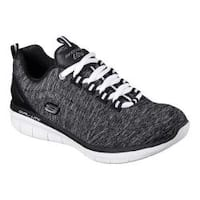 Women's Skechers Synergy 2.0 Headliner Sneaker Black/White