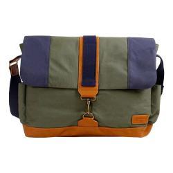 JWorld New York Sam Messenger Bag Khaki