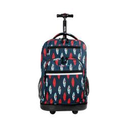 JWorld New York Sundance Laptop Rolling 19.5in Backpack Indi