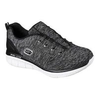 Women's Skechers Synergy 2.0 Scouted Sneaker Black/White